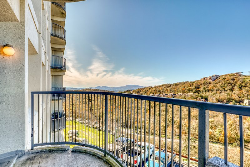 Wonderful mountain condo with fireplace & shared hot tubs, pool, sauna!, location de vacances à Linville