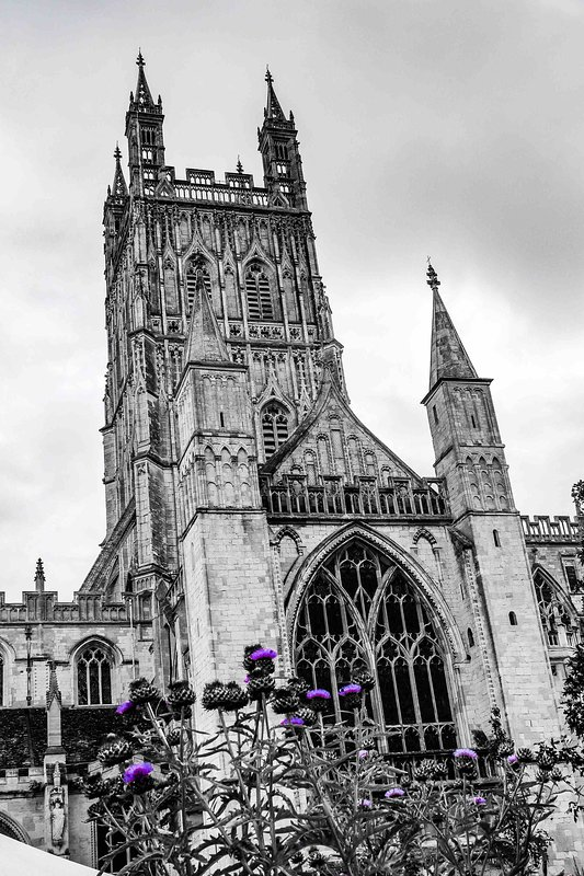 Gloucester Cathedral and Tewkesbury Abbey both worth a visit with your camera.