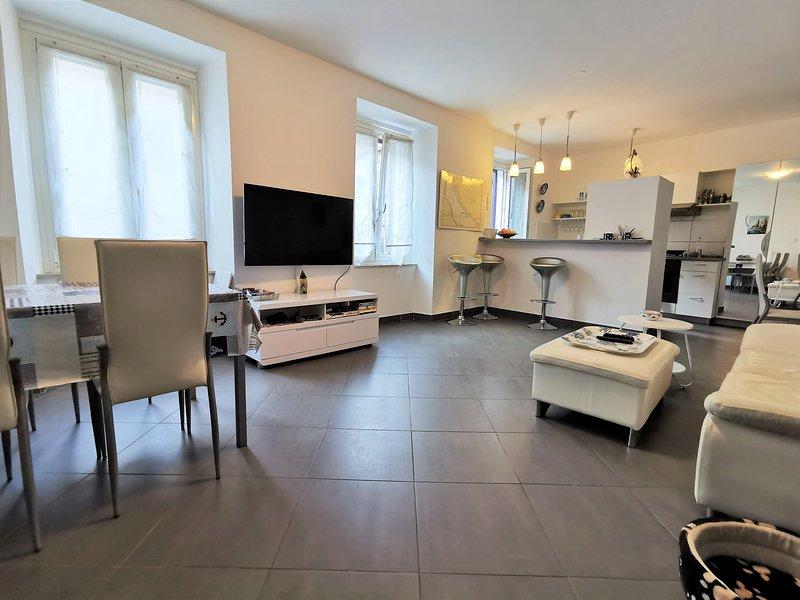 Appartement de 64 m², clim,  avec jardin privatif, holiday rental in Lozovac