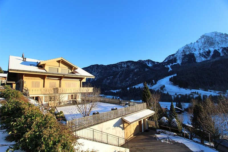 Luxus Chalet Solidage, vacation rental in Bulle
