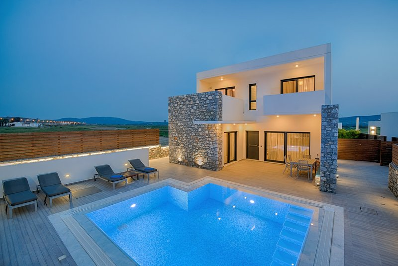 Villa Romeo - Prasonisi Villas, location de vacances à Kattavia