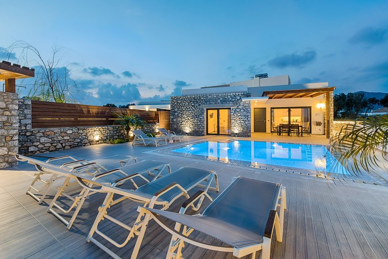 Villa Juliette - Prasonisi Villas, location de vacances à Kattavia