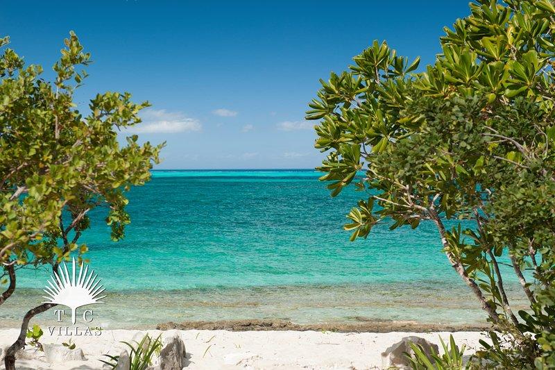 Grace Bay Beach och landets bästa snorkling.