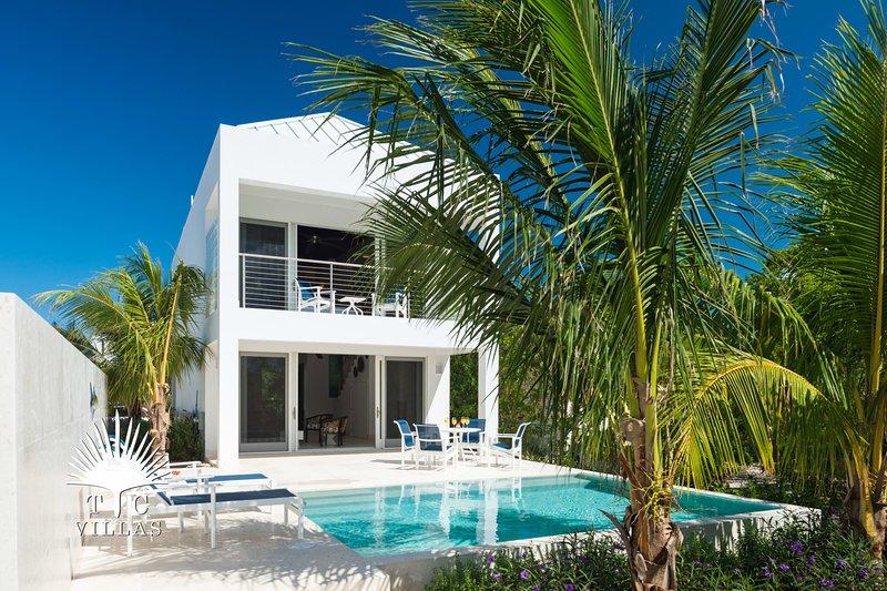 TC Villas // Little Plum Villa // Direct beach path, location de vacances à The Bight Settlement
