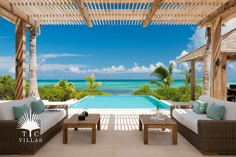 TC Villas // Castaway // Beachfront family vacation, holiday rental in Providenciales