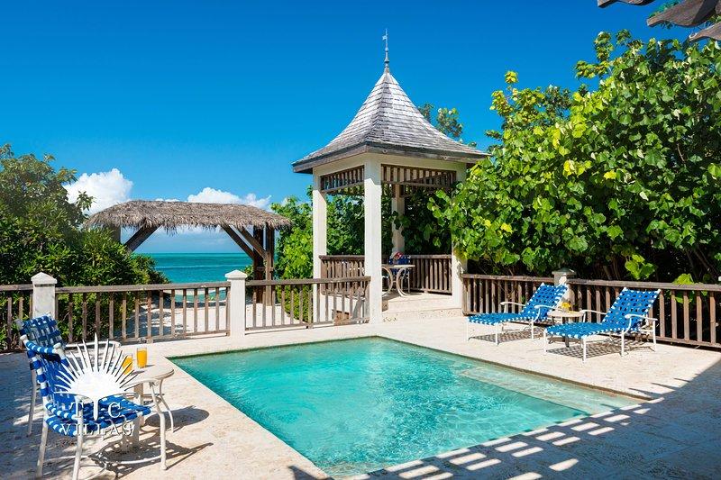 TC Villas // Callaloo Cottage // Romantic Beachfront, location de vacances à The Bight Settlement