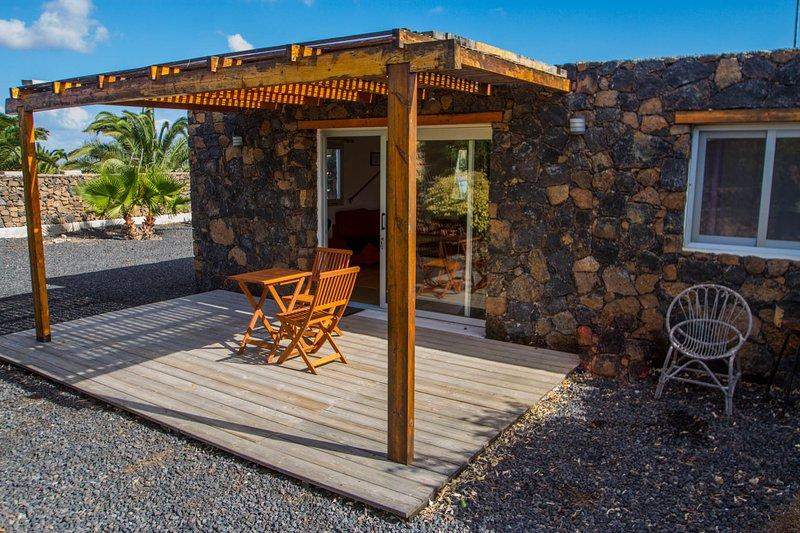 Casa Quentin , tranquilité à Lajares., location de vacances à Lajares