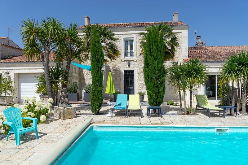 Gîte 4 étoiles, vacation rental in Beurlay