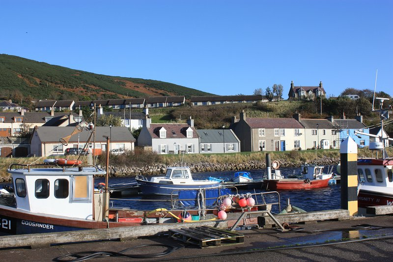 The Hoose on the harbour