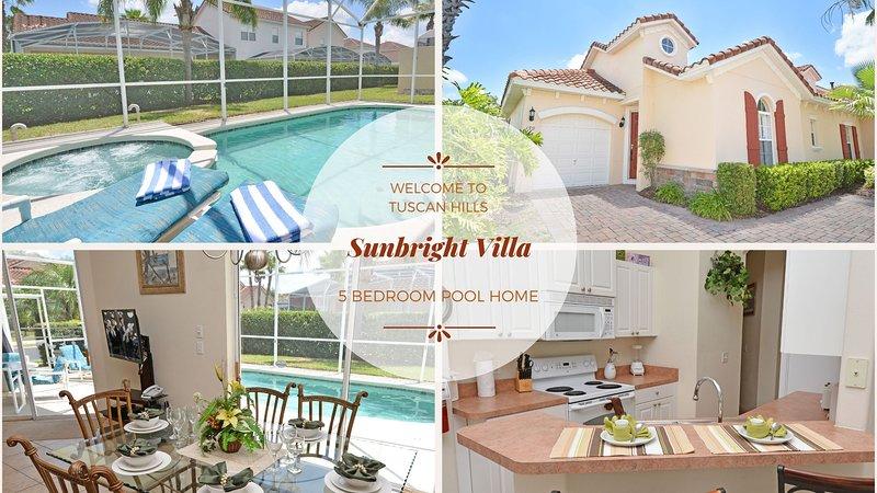 Sunbright Villa vous souhaite la bienvenue!