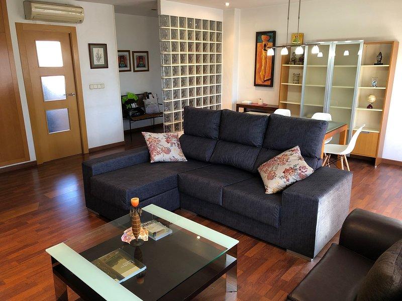 Apartamento Pacífico, elegante, céntrico, luminoso, location de vacances à Burjassot