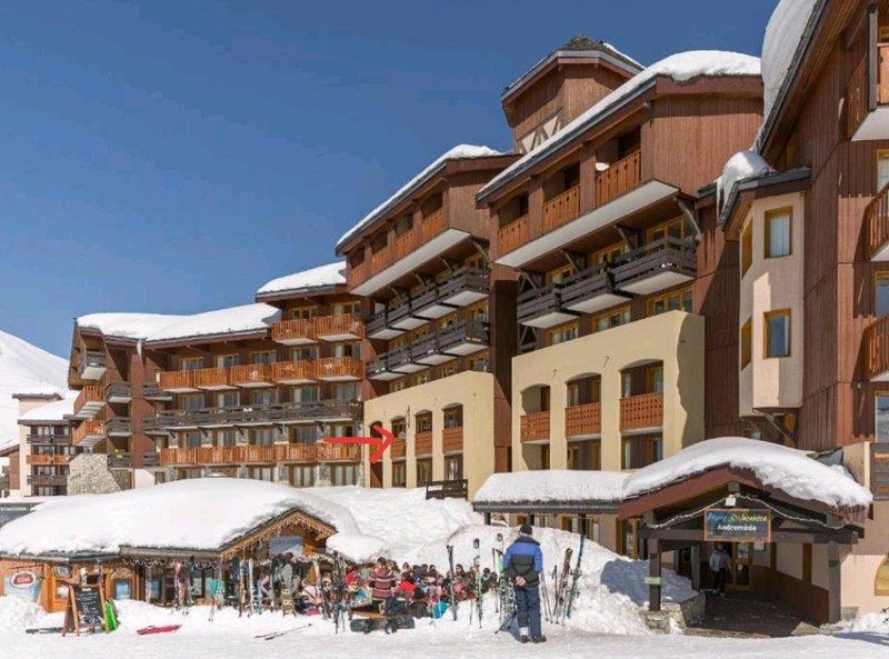 Loue appartement Belle Plagne haut au pied des pistes de ski !, vacation rental in Belle Plagne