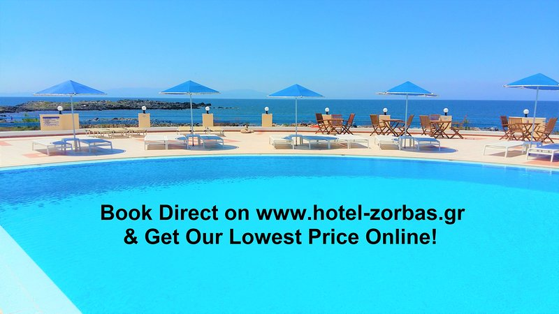Zorbas Beach Village Hotel (Two Room Apartment, Free Wi-Fi, Free Parking), alquiler vacacional en Stavros
