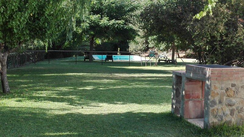 Barbecue, garden