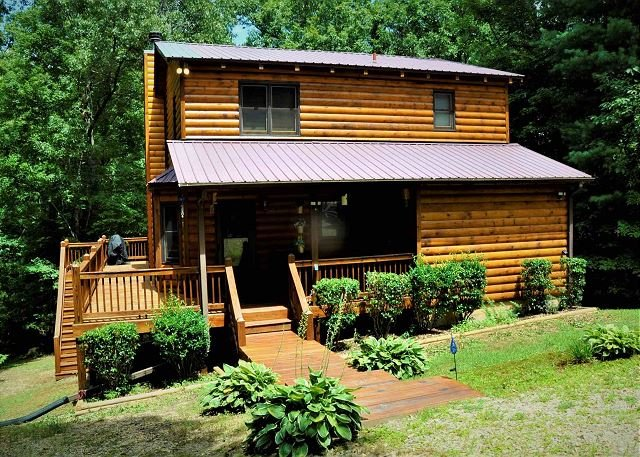 Wilderness Retreat-Flat land, paved roads all the way,focal to other cities, vacation rental in Blairsville