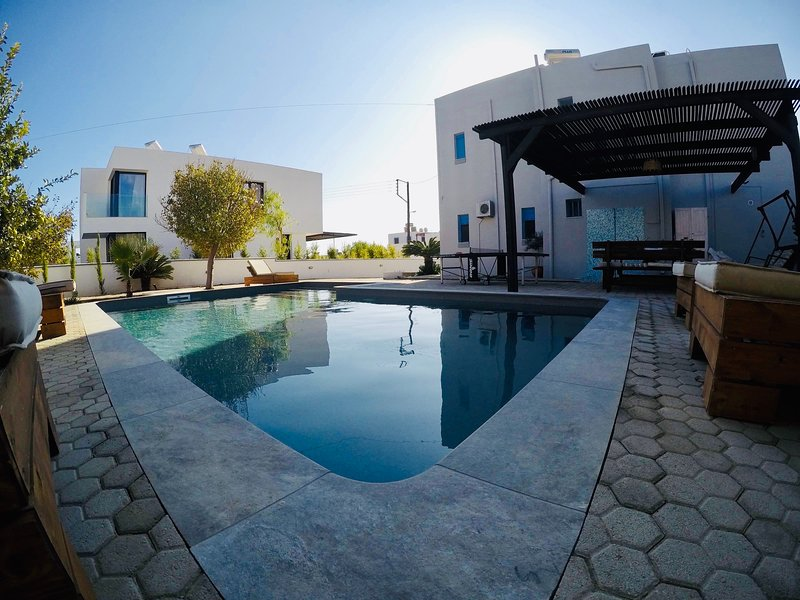 Villa Amor NEW ECO POOL-Beachfront Villa-Super offers, holiday rental in Pefkos
