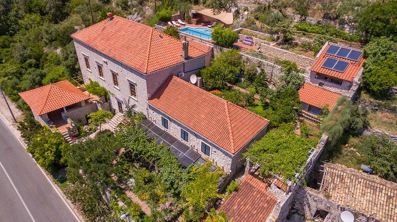 Villa Gradi 15th century Dubrovnik luxury villa, vacation rental in Dubrovnik