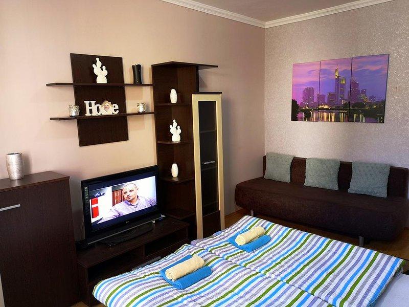Melinda Apartman Kisvárda, vacation rental in Vasarosnameny
