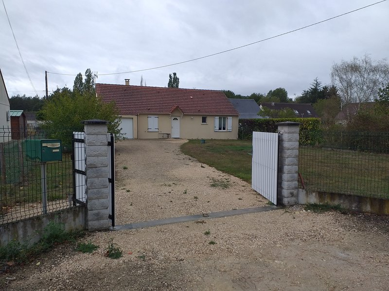Gite 3 chambres Chambord Cheverny, holiday rental in Fontaines-en-Sologne