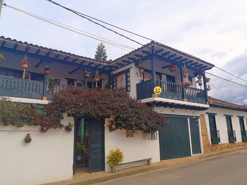 Villa de Leyva, Casa Villa Luguianga., holiday rental in Villa de Leyva