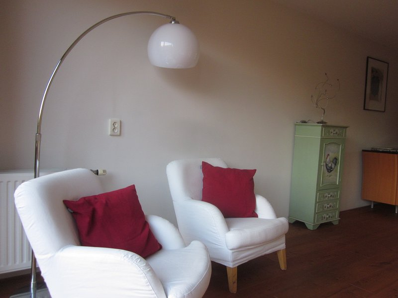 Large apartment near City Centre uwn bathroom with great breakfast and wifi, holiday rental in Baambrugge