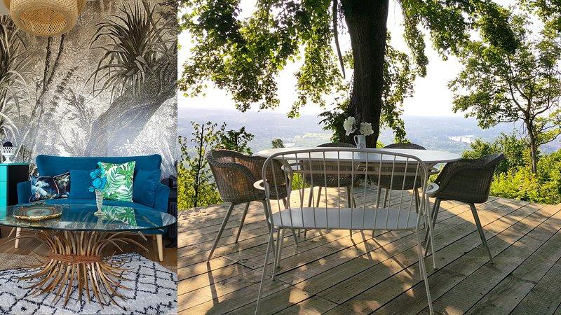 Belvédère sur les hauteurs de Vichy, vacation rental in Allier