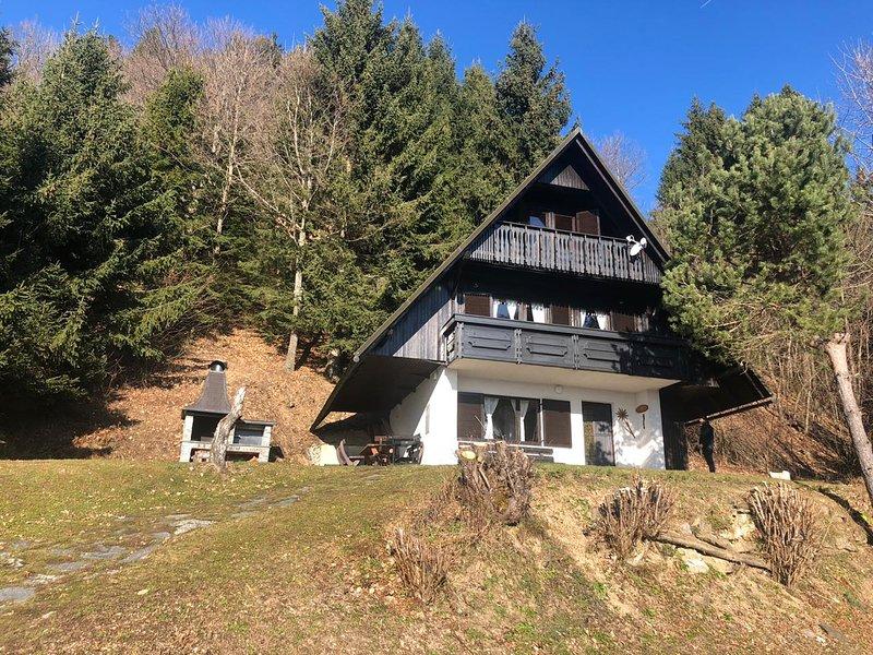 Sunny chalet Anica, location de vacances à Cerkno