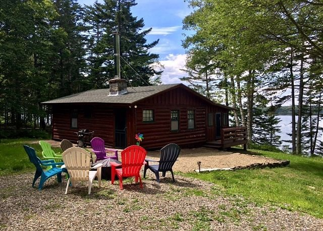Treasure Pt Cabin in St. George, holiday rental in Spruce Head