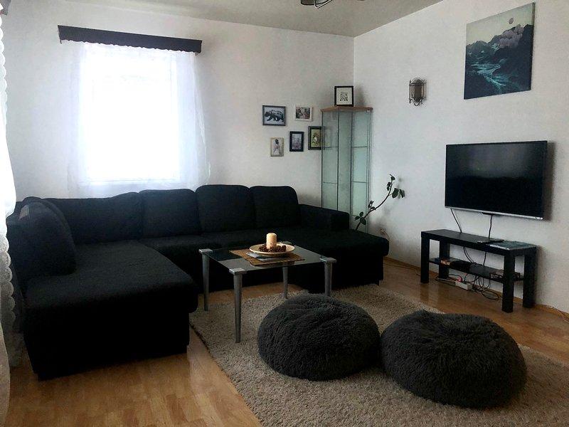 Private Scandinavian Apartment, alquiler vacacional en Husafell