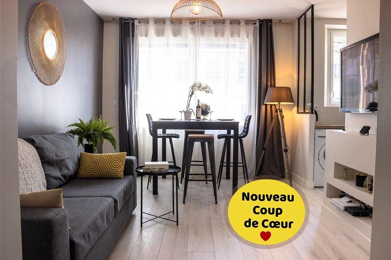 Superbe Appt RDC Lorient centre tout équipé, location de vacances à Lorient