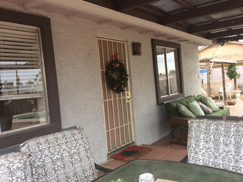 Tempe Duplex. ....Back unit, holiday rental in Tempe