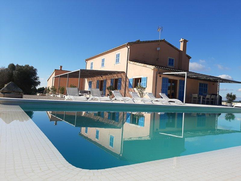Villa ALILA (Chalet individual aislado con piscina, aluguéis de temporada em Manacor