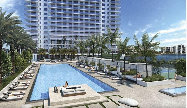 Brand NEW Hyde Resort Hollywood, FLORIDA 2Bed/2Bath, vacation rental in Hallandale Beach