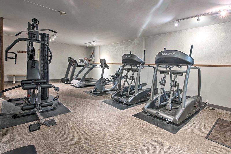 Attenersi alla routine di allenamento durante il soggiorno.