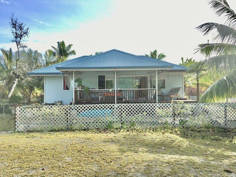Rangiroa, Tiputa chambre double, location de vacances à Rangiroa