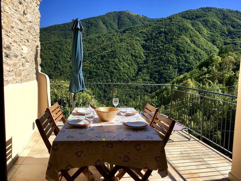 Rezzo Holiday Home Rental, vacation rental in Agaggio Inferiore