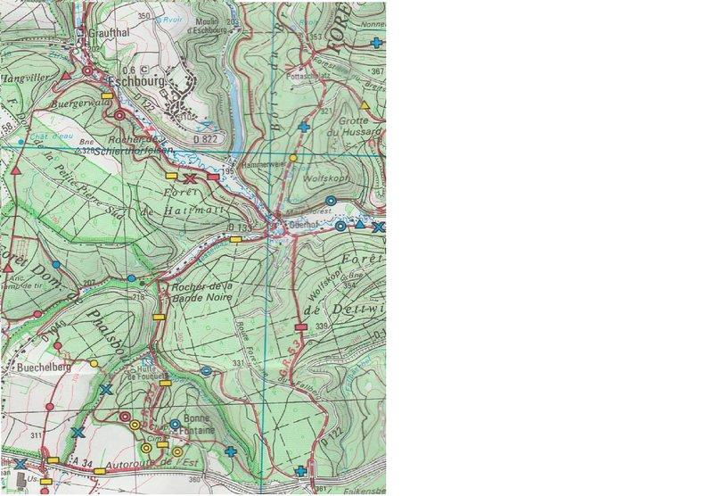 cartina escursionistica