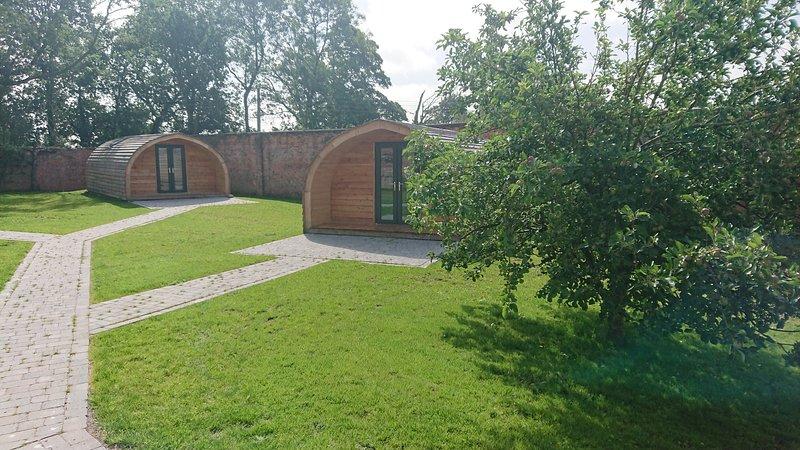 Elm, The walled garden pod's, aluguéis de temporada em Uttoxeter
