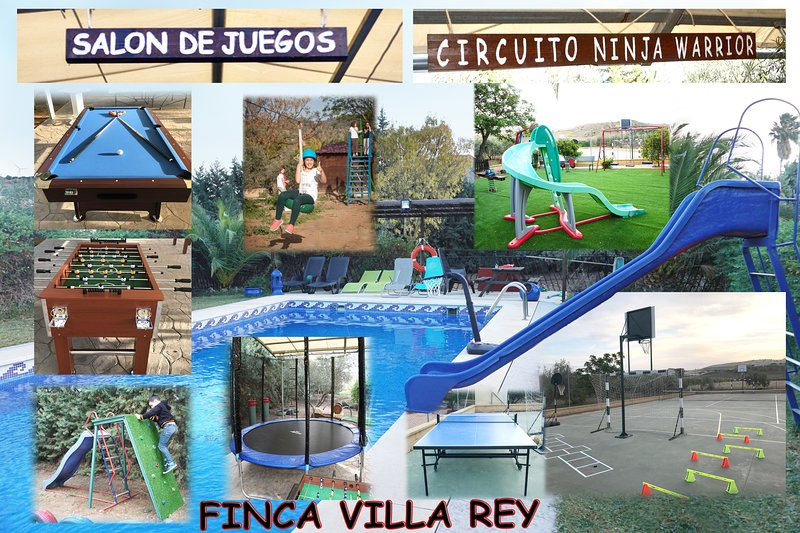 FINCA VILLA REY, A 7 KMS DEL CAMINITO DEL REY, vacation rental in Casarabonela