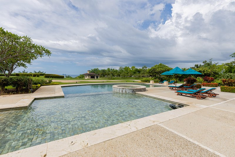 resort style pool with Ocean views at the Malinche condos