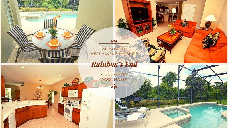 Rainbow's End Villa vous souhaite la bienvenue!