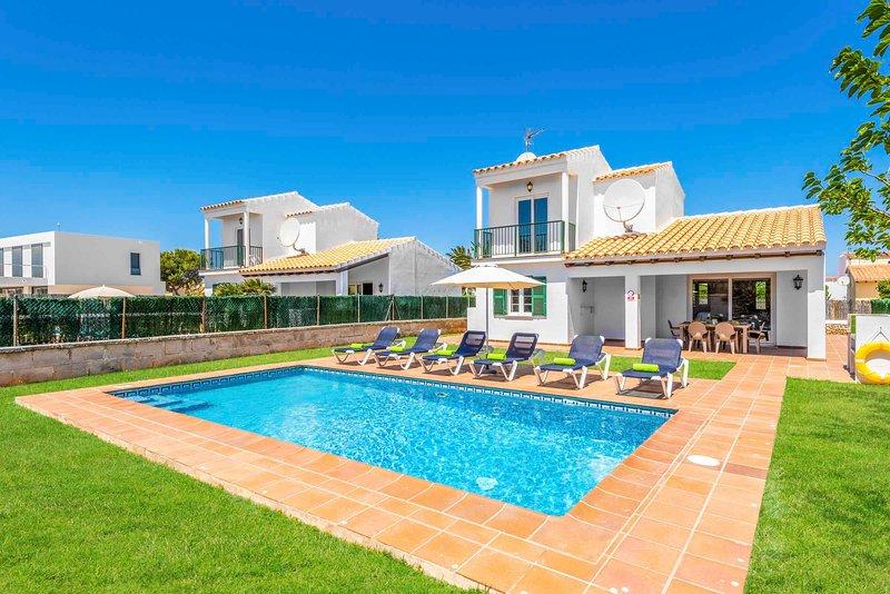 Villa Fuegosol, aluguéis de temporada em Cala'n Forcat