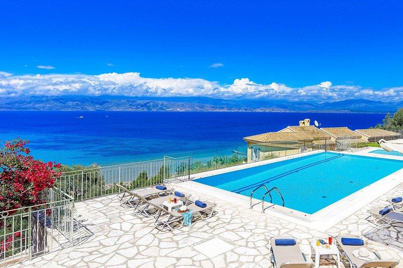 Villa Irida, vacation rental in Peroulion