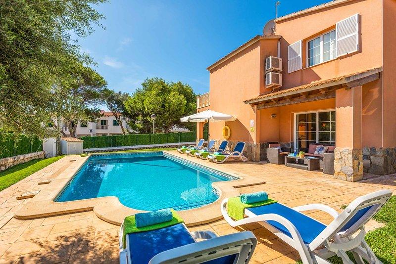 Villa Llevant, holiday rental in Cala Morell