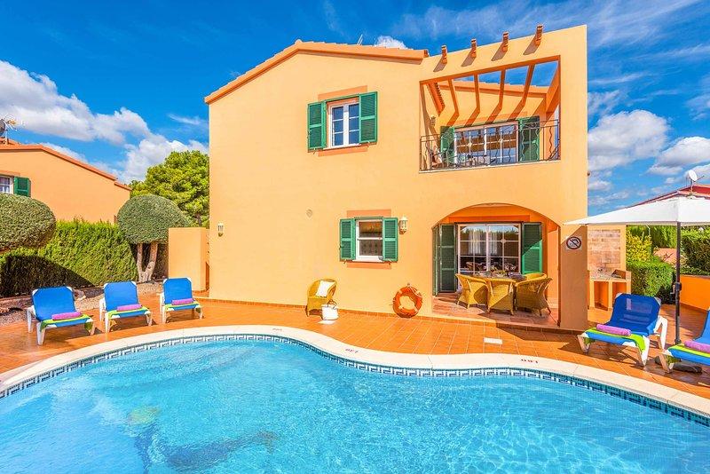 Villa Marcolis Playa, holiday rental in Ferreries