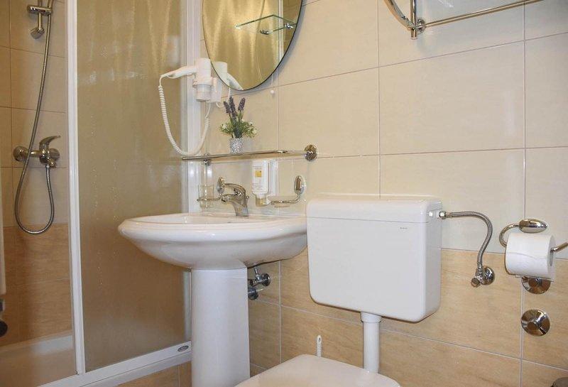 R 401 (2): bathroom with toilet