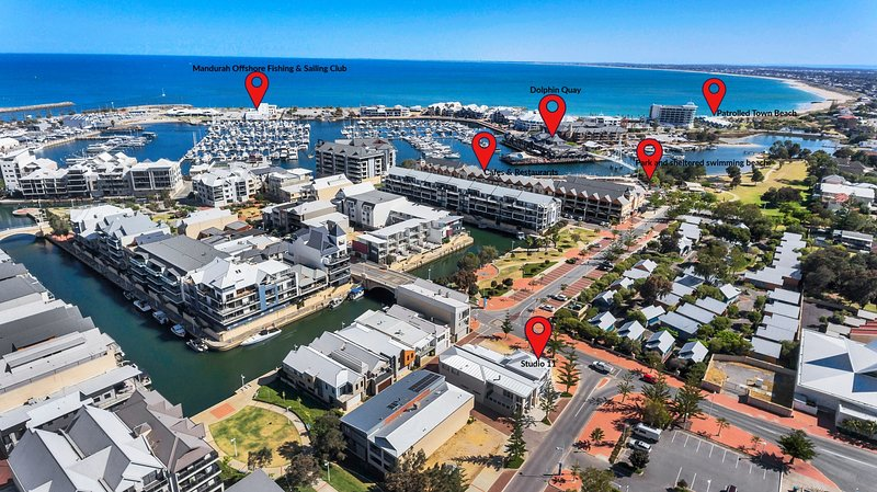 Studio 11 Mandurah Marina - 2 Bedroom Self contained apartment, vacation rental in South Yunderup