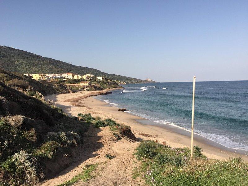 La comodita della spiaggia a due passi, holiday rental in La Ciaccia