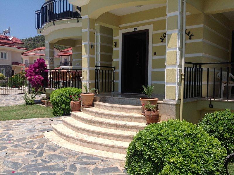 3 bed Calis beach luxury Duplex, holiday rental in Fethiye