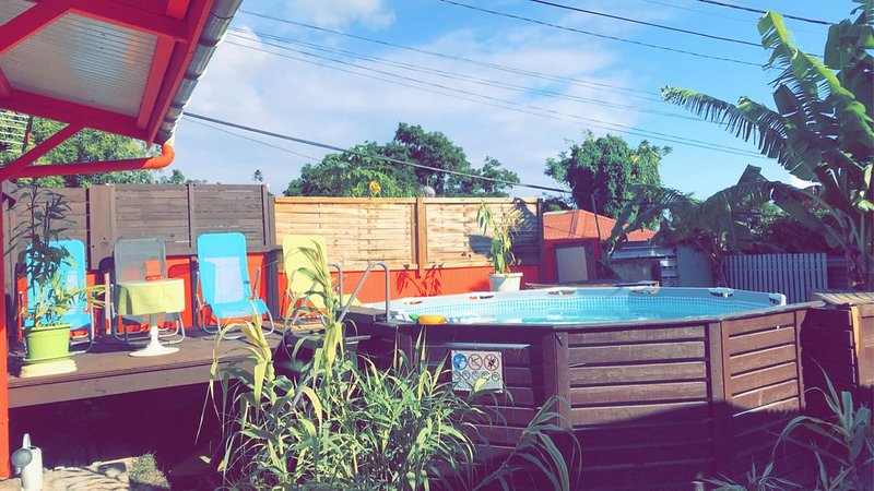 Amazing bungalow with swimming-pool, holiday rental in Vieux-Fort